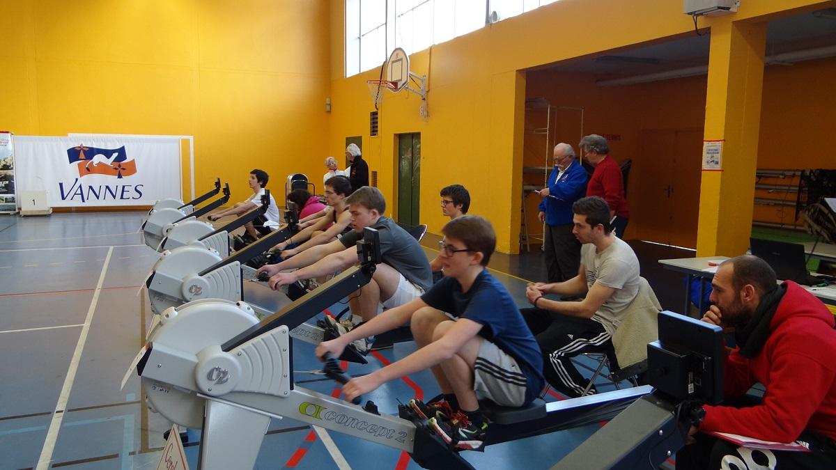 Open d'aviron indoor (Kercado, 1er février 2015)